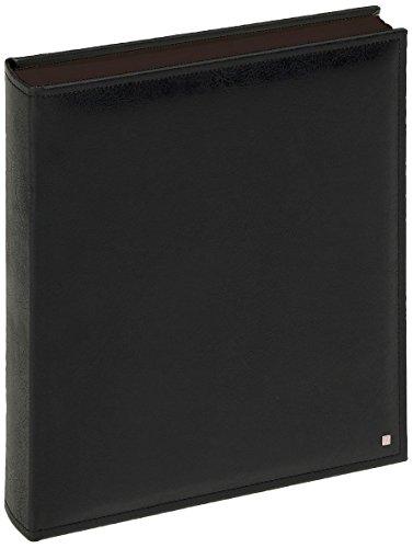 FA-288-B Fotoalbum Deluxe 30 x 36 5 cm 80 schwarze Seiten schwarz