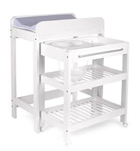 table langer avec baignoire et place pour le tummy tub. Black Bedroom Furniture Sets. Home Design Ideas