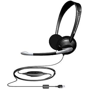 sennheiser pc 35 usb binaural headset with microphone electronics. Black Bedroom Furniture Sets. Home Design Ideas