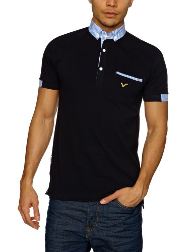 Voi Dugout Polo Men's T-Shirt Dress Blue Medium