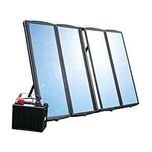 60 Watt Solar Kit with Frame - Solar Panel Kit Solar Battery Charger for Boats, RV, Cabins, Remote Locations