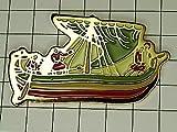 限定レア◆ピンバッジ◆ボート帆船ピンズフランス
