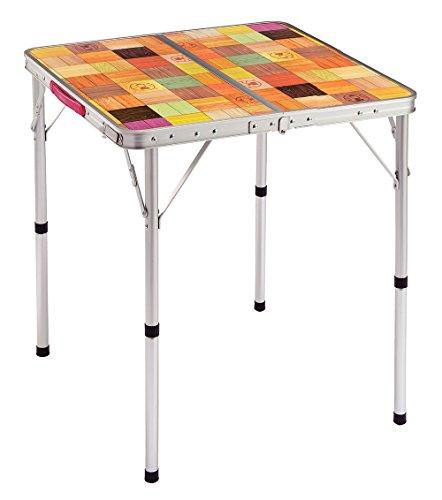コールマン テーブル ナチュラルモザイクリビングテーブル/60プラス