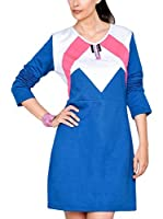 HHG Vestido (Azul / Blanco / Rosa)