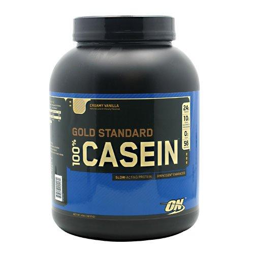 Optimum Nutrition 100% Casein,Vanilla, 4.0 Lb, Ea-1