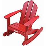 Child's Adirondack Rocking Chair Finish: Green