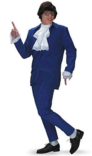 DIS5428 (X-Large 42-46) Austin Powers Suit Mens 1970's Costume ()