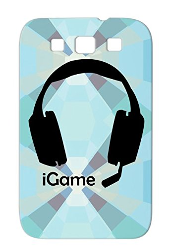 Igame Headset Call Of Duty Gaming Cool Igame Medal Honor New Video Games Geek Gaming Xbox Headset For Sumsang Galaxy S3 Black Anti-Shock Protective Hard Case