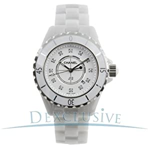 Chanel H1628 J12 Diamonds Unisex Watch from Chanel