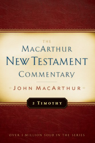 Image for MNTC Second Timothy: New Testament Commentary (Macarthur New Testament Commentary Serie)