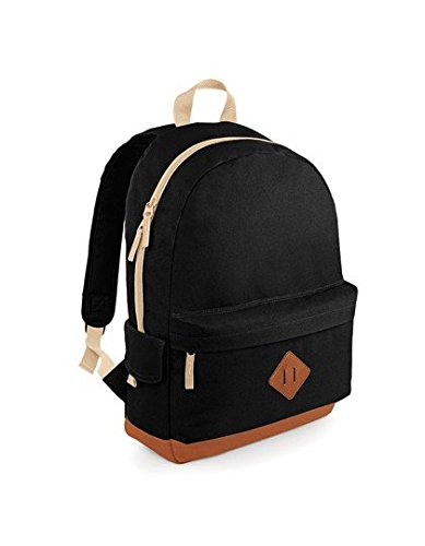 bagbase-heritage-backpack-1er-pack-negro-varios-colores-b00c861xza