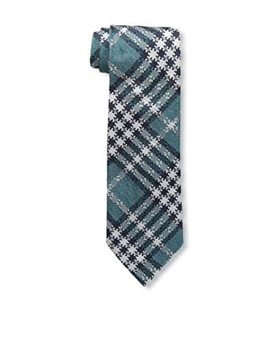 Tom Ford Men's Plaid Tie, Green