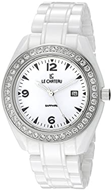 buy Le Chateau Women'S 5868_Wht Persida Lc White Ceramic Watch