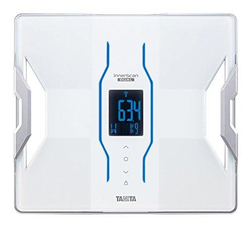 タニタ 体組成計 インナースキャンデュアル RD-900-WH(ホワイト) iPhoneアプリで健康管理