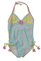 Kate Mack Girl's 2-6X Water Sprite Swimsuit in Aqua