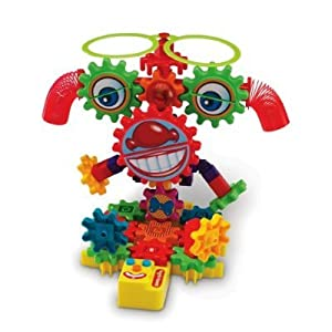 Learning Resources Gears! Gears! Gears! Magnetic Goofy Grins Motorized Set