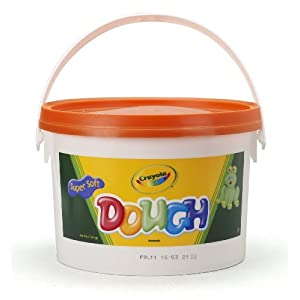 Crayola Dough 3-lb Bucket Orange