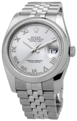Rolex Datejust Stainless Steel Mens Watch 116200RRJ
