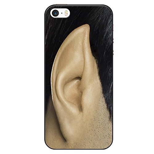BMC iPhone SE Black Cover Case - Spock Ear