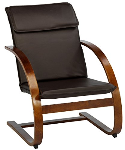 JYSK-Armchair-Tune-Faux-Leather-Brown