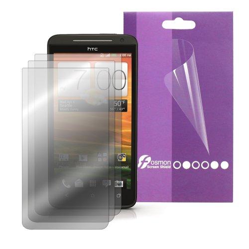 Fosmon Anti Glare (Matte) Screen Protector Shield For Htc Evo 4G Lte / Htc Evo One - 3 Pack