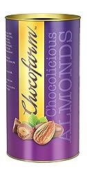 Chocofarm chocolate confection coated (covered)Roasted crunchy Almonds (Dry Fruits Chocolate) (Jumbo)
