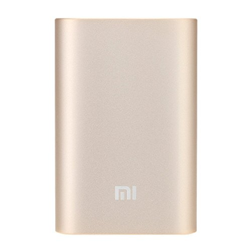 XIAOMI-new-10000mah-ORIGINALE-Power-Bank-Caricabatteria-Universale-Nuova-Portable-dorato