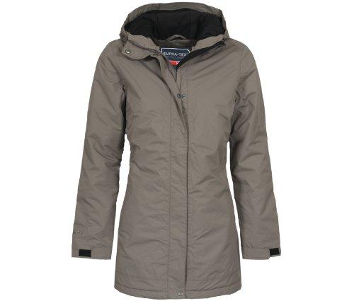 Bergson Outdoor Cappotto invernale ALBA - Donna, Marrone (Bungee Cord [780]), 38