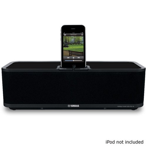 Yamaha PDX-30  iPod Dock. Black finish