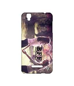Vogueshell Best Friends Forever Printed Symmetry PRO Series Hard Back Case for YU Yureka Plus