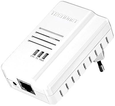 Trendnet Powerline 500 Av2 Adapter - 1 X Network (rj-45) - 600 Mbps Powerline - 5000 Sq. Ft. Area C
