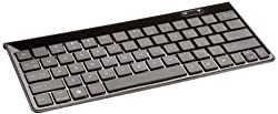 AmazonBasics Bluetooth Keyboard with Mini Travel Stand for Kindle Fire HD 8.9-Inch, Kindle Fire HD 7-Inch, and Other Android Devices (Black)