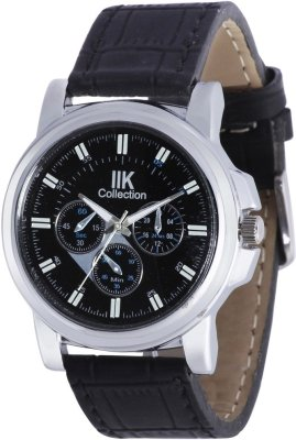 b6b5be71b67 42% OFF on Iik Collection Analogue Black Dial Men s Watch - IIK-516M on  Amazon