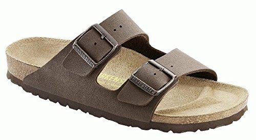 Birkenstock Sandals ''Arizona'' From Birko-Flor In Mocca 39.0 Eu R front-964309