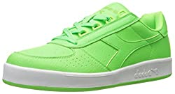 Men s B. Elite Bright Tennis Shoe Green Flash 9 D(M) US