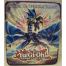 YuGiOh ZEXAL 2011 Wave 1 Holiday Tin Number 17 Leviath Dragon Includes 5 Packs + Pot of Duality, Stygian Street Patrol, Beast King Barbaros Dark Simorgh (Tin Numbers compare prices)
