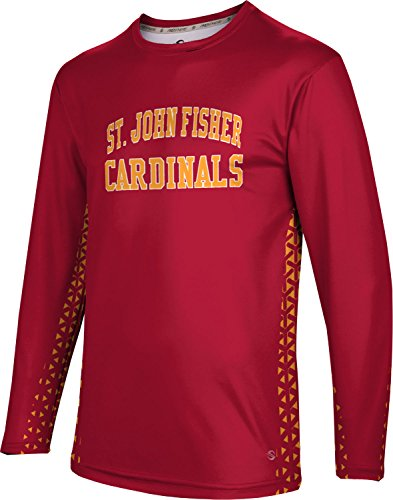 ProSphere Men's St. John Fisher Community College Geometric Long Sleeve Tee (St John Fisher compare prices)
