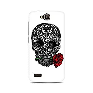 Mobicture Skull Art Premium Printed Case For Huawei Honor Holly