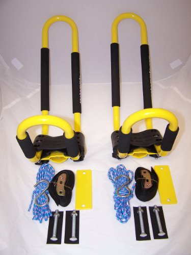 PK-KRY 1 Pair of YELLOW Universal Kayak J Racks