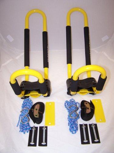 PK-KRY 1 Pair of YELLOW Universal Kayak J Racks