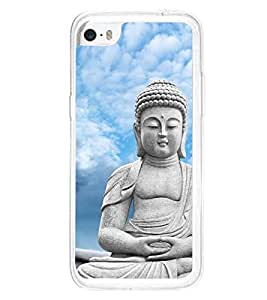 Buddha 2D Hard Polycarbonate Designer Back Case Cover for Apple iPhone 5C
