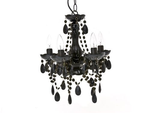 Present Time Lamp chandelier Gypsy small black