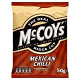 The Real McCoy's Ridge Cut Mexican Chilli 50g x Case of 30