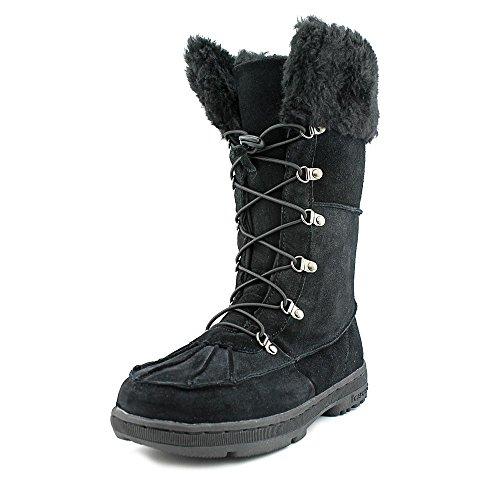 Bearpaw Kirkwood Womens Size 11 Black Suede Winter Boots