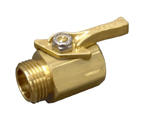 Dramm 12353 Heavy-Duty Brass Shut-Off Valve