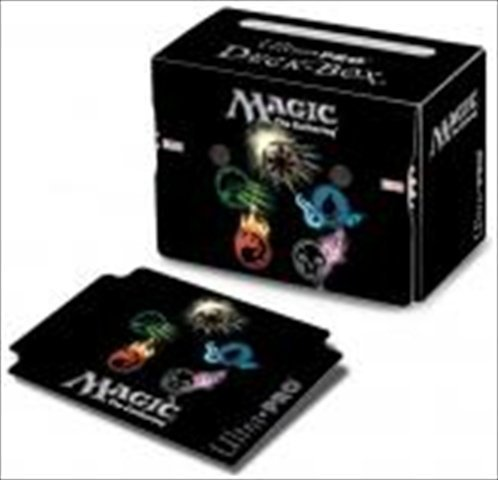 Ultra Pro 86138 Deck Box Mana 4, Symbols With Life Counters - 1