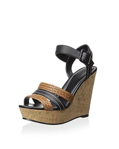 Charles By Charles David Women's Renata Sandal  [Black/Cognac]