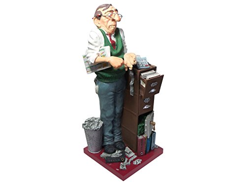 Guillermo Forchino The Accountant Comic Art Sculpture FO85536
