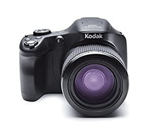 Kodak Astro Zoom AZ651-BK Digital Camera with 65.0x Optical Image Stabilized Zoom with 3.0-Inch LCD (Black) by JK Imaging Ltd
