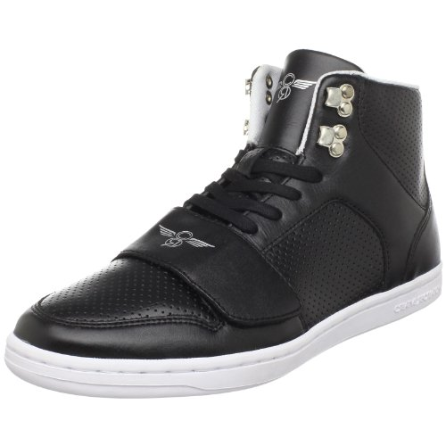 Creative Recreation Men's Cesario Classic High-Top Sneaker,Black,11 M US